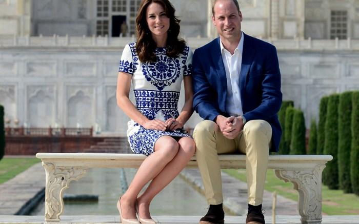 kate middleton LK bennett nude pumps taj mahal india prince william princess diana