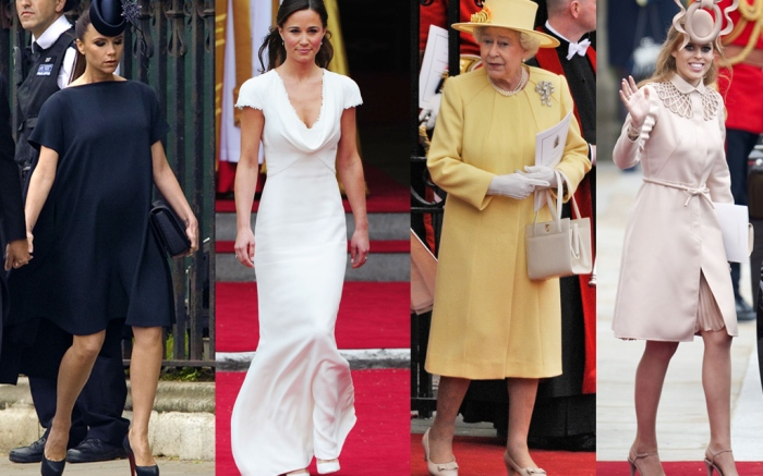 Kate William Royal Wedding Guests Shoes
