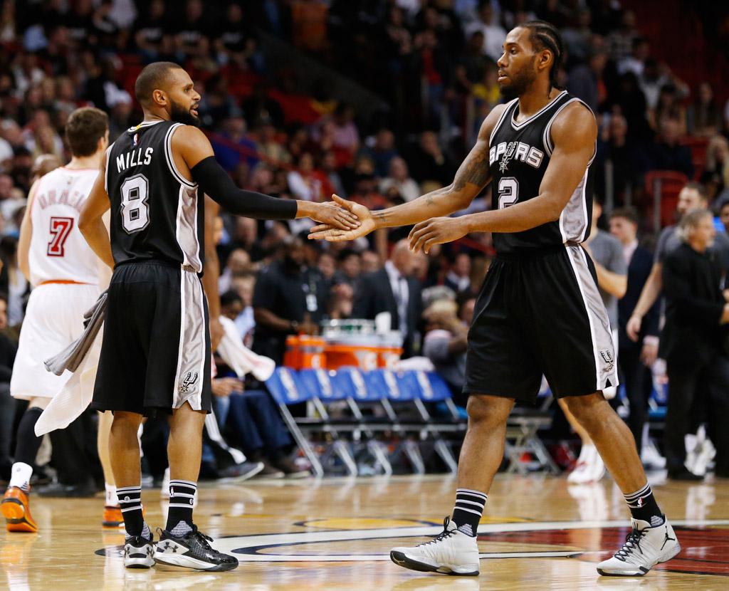 Kawhi Leonard San Antonio Spurs NBA Defensive Player of the Year