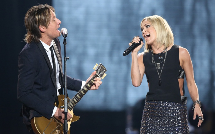 Keith Urban Carrie Underwood American Idol