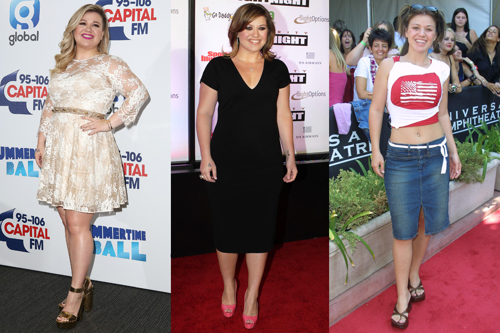 Kelly Clarkson American Idol Style Then And Now