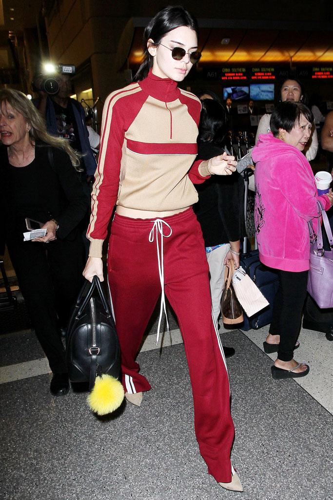 Kendall Jenner Sweatsuit Paris