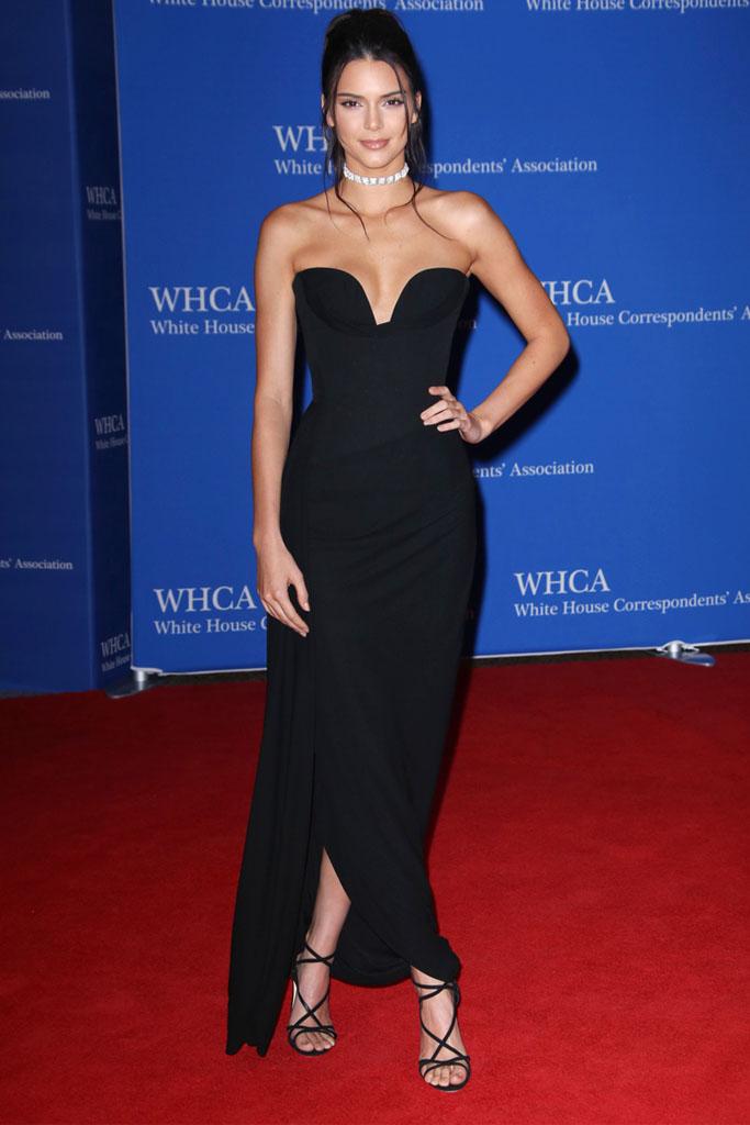 Kendall Jenner white house correspondents dinner