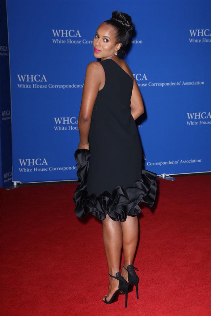 Stuart Weitzman sandal heels kerry washington white house correspondence dinner