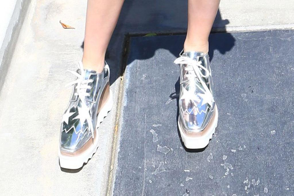 Kiernan Shipka Coachella 2016 Shoes