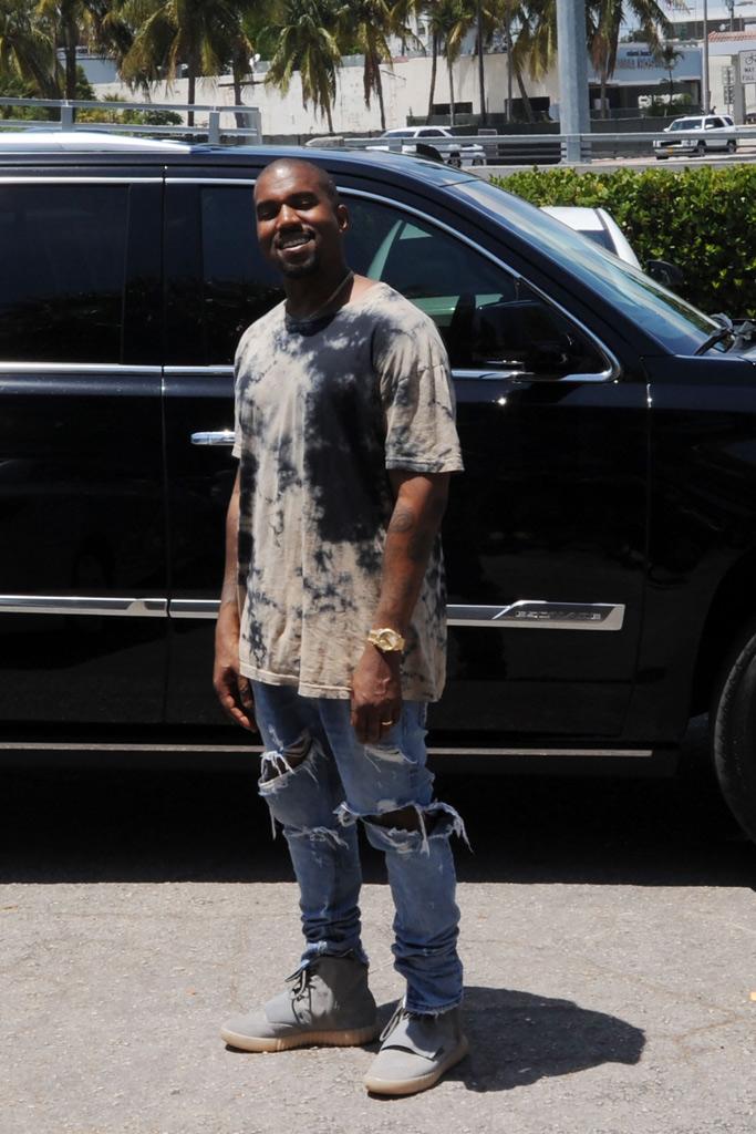 Kanye West Miami Shoes