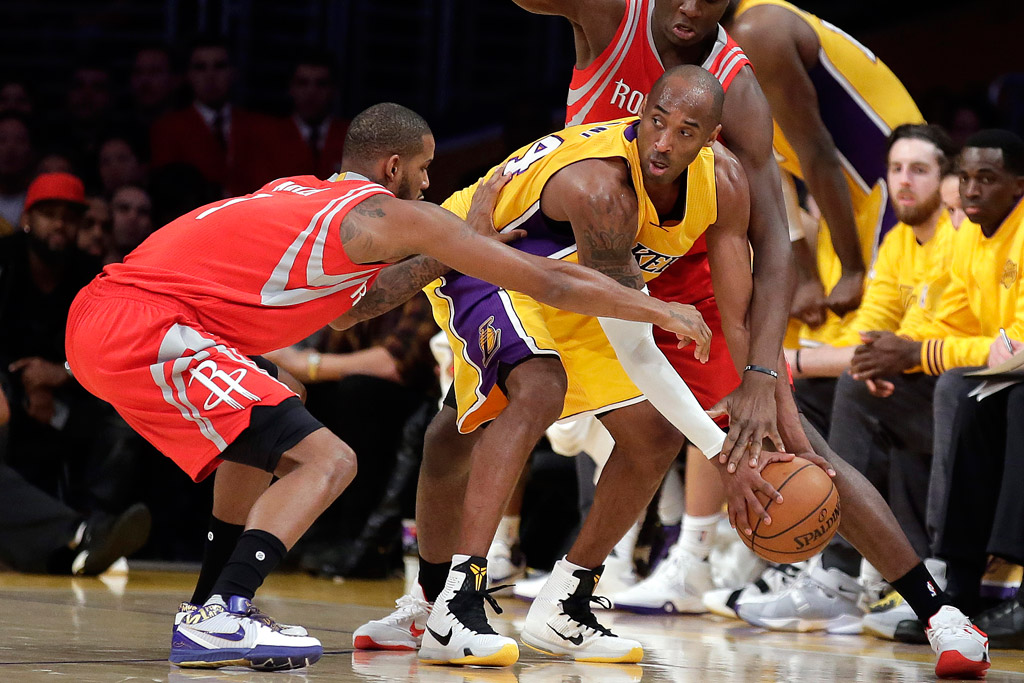 Kobe Bryant In His Final Season