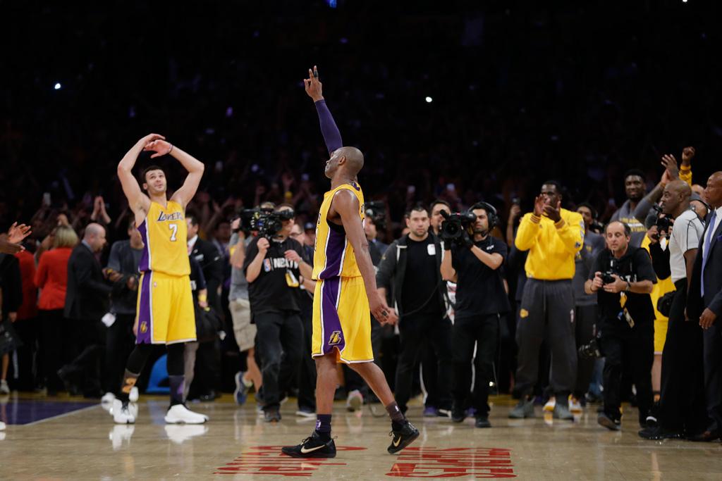 Kobe Bryant Drops 60 Points In Final