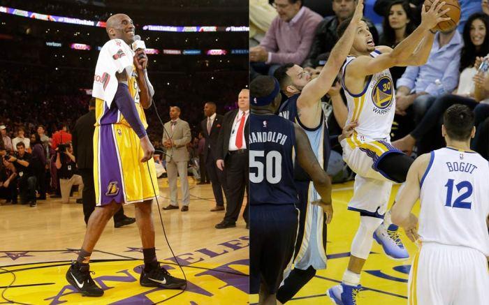Kobe Bryant & Stephen Curry