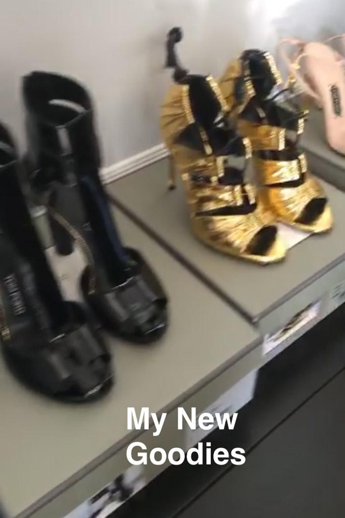 Kylie Jenner Snapchat Tom Ford