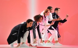 Lacoste Team France Uniforms Shoes