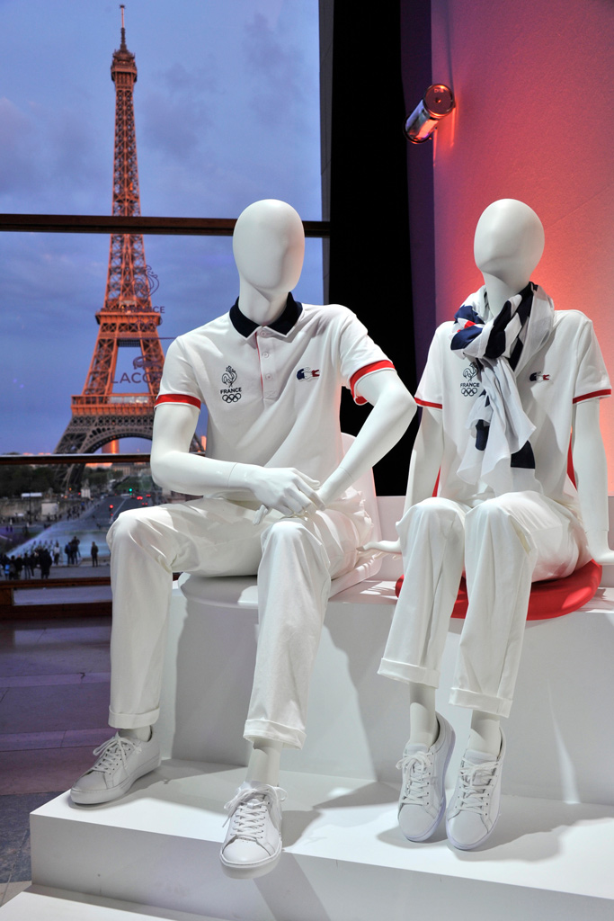 Lacoste Team France Uniforms Shoes