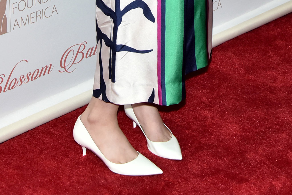 Lena Dunham Jimmy Choo Blossom Ball