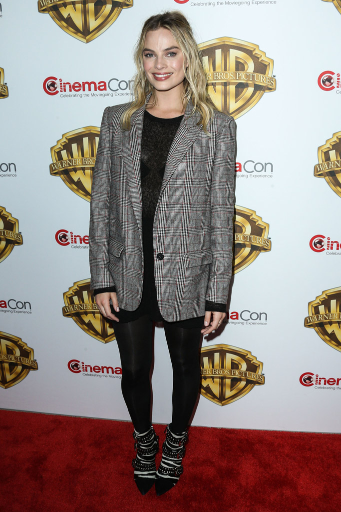 Margot Robbie Suicide Squad CinemaCon 2016