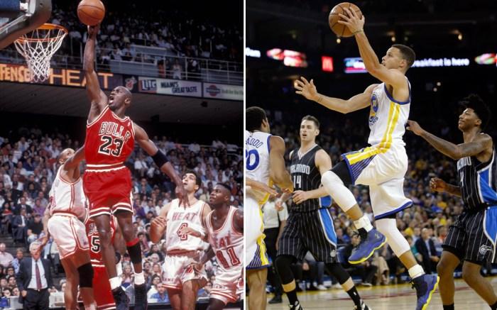Michael Jordan Vs. Stephen Curry