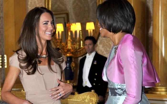 Kate Middleton Michelle Obama