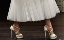 Naeem Khan Bridal Spring 2017 Shoes