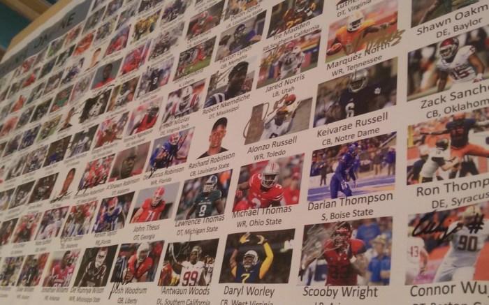 NFL draft picks banner
