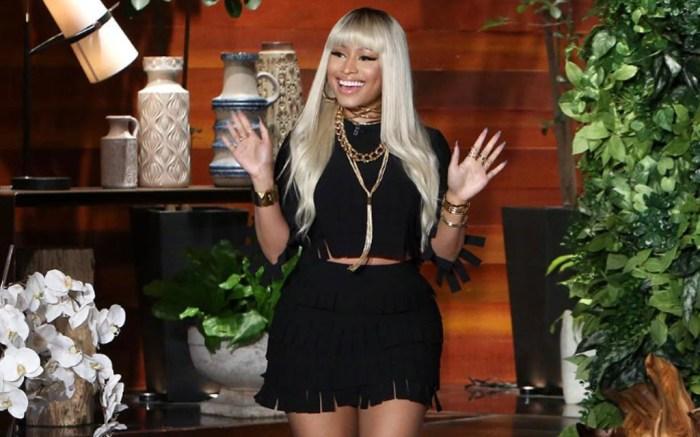 Nicki Minaj The Ellen Show