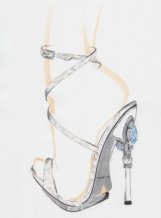 Oscar de la Renta Shoes Met Gala 2016