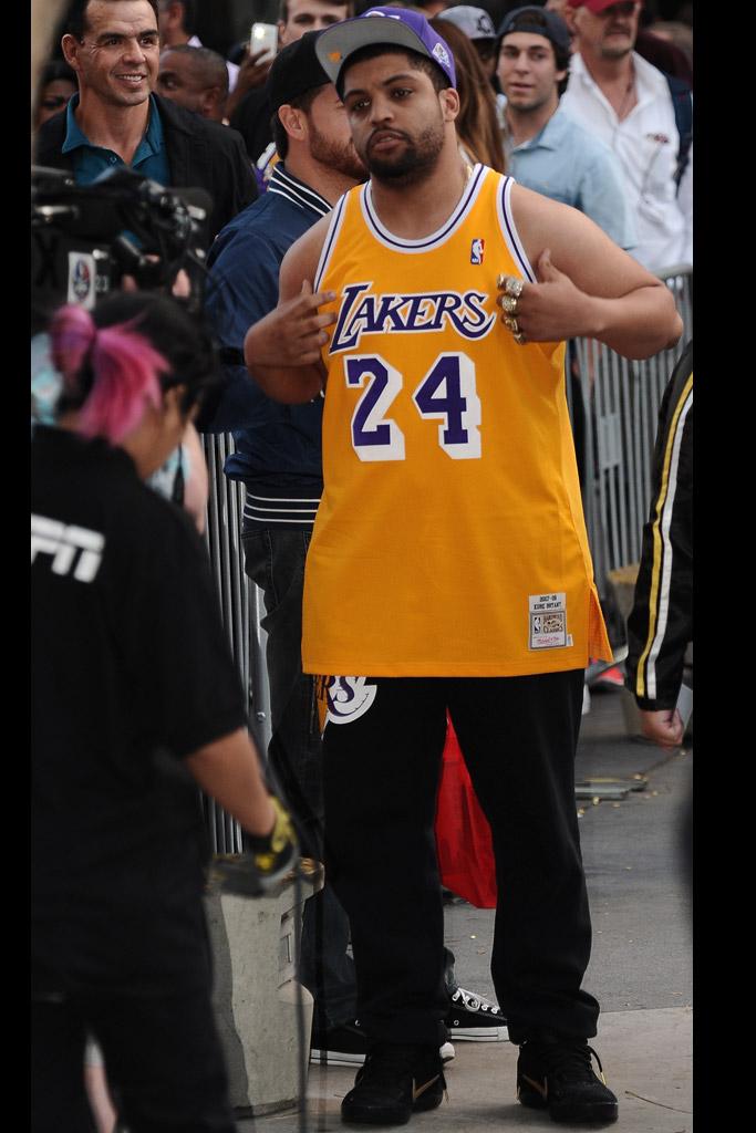 O'Shea Jackson Jr. Kobe Bryant Last Game Los Angeles Lakers