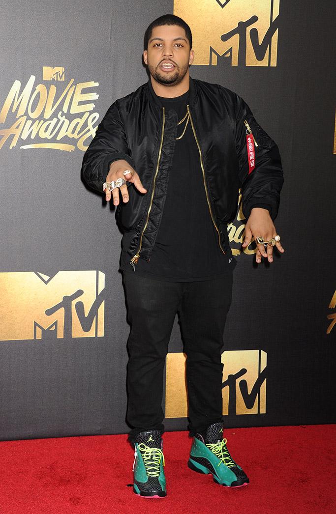 O'Shea Jackson MTV Movie Awards 2016 Red Carpet