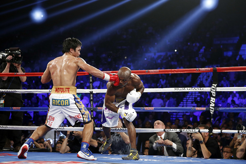 Tomar un baño Corrupto Desnudarse  Manny Pacquiao Wins In Nike Despite Terminated Deal [PHOTOS] – Footwear News