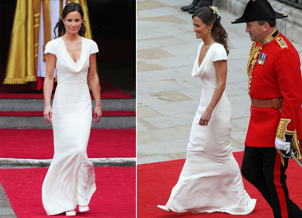 Pippa Middleton Royal Wedding Shoes