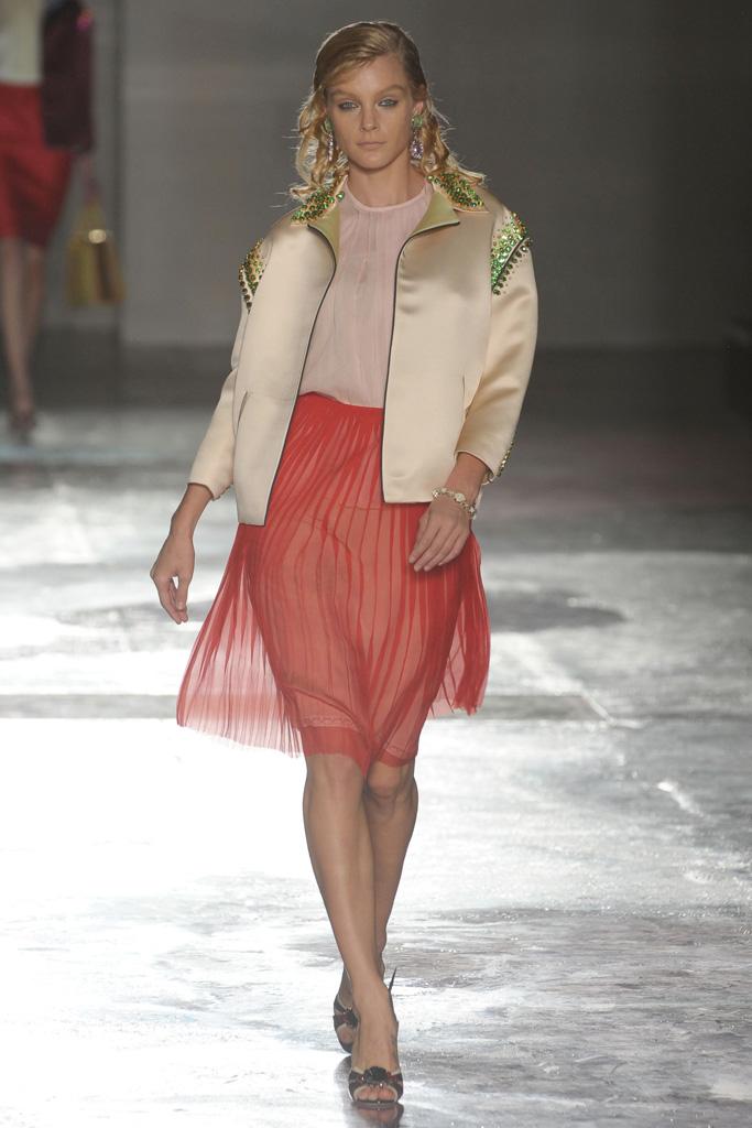 Prada Spring 2012