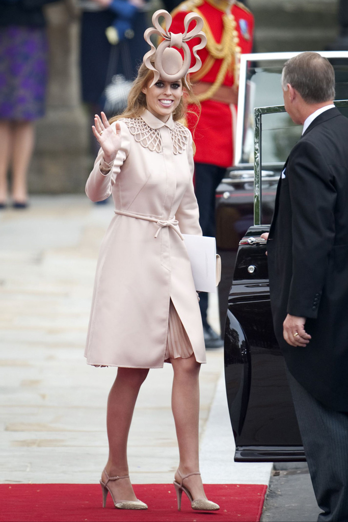 Kate William Royal Wedding Princess Beatrice