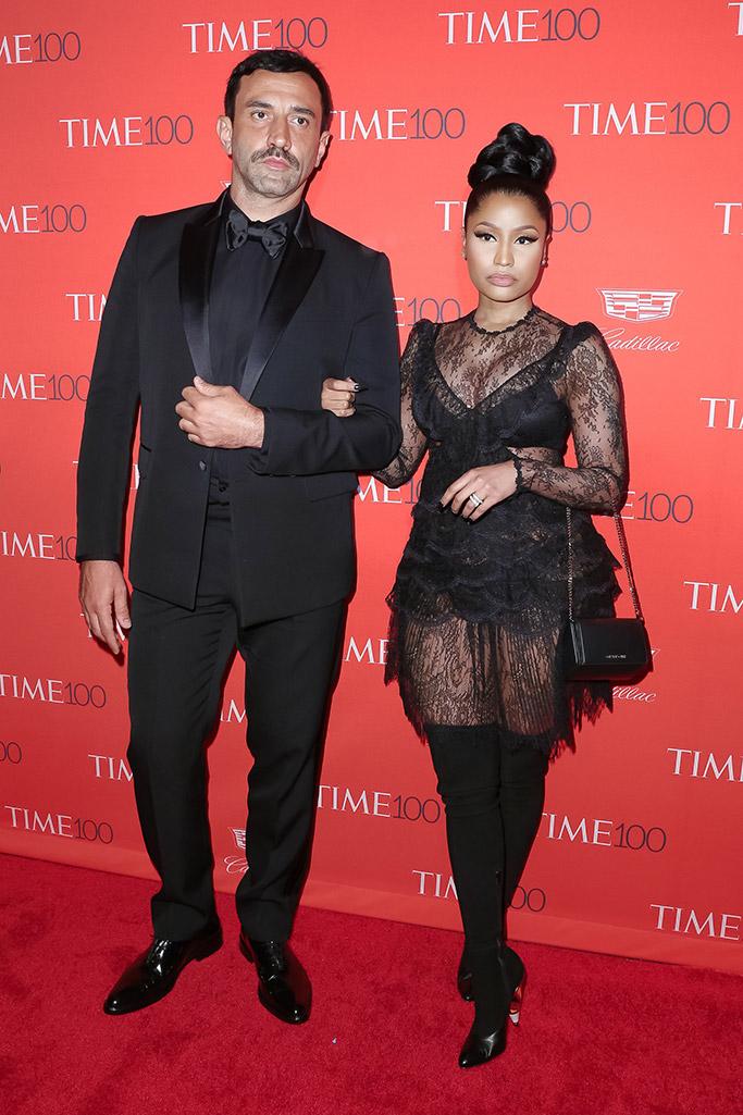 Nicki Minaj Riccardo Tisci Time 100 Gala