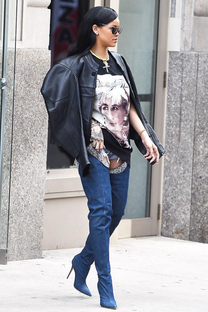 Rihanna Celebrity Statement Shoes Spring 2016