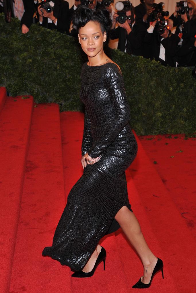 Rihanna Met Gala Shoes
