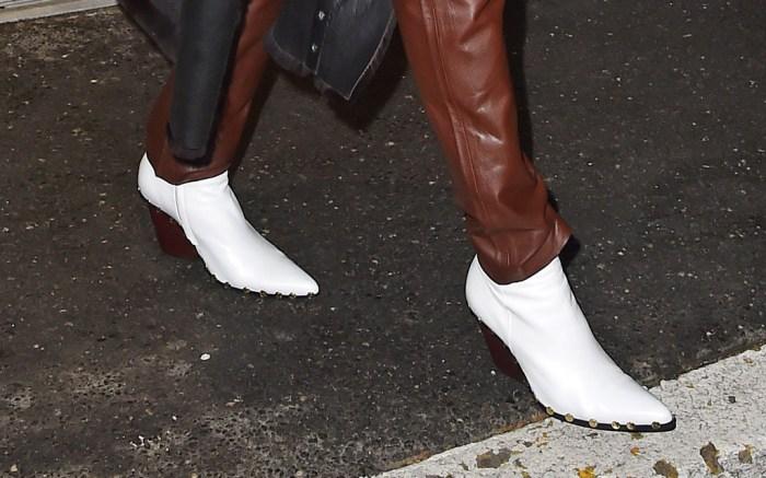 rihanna celine boots