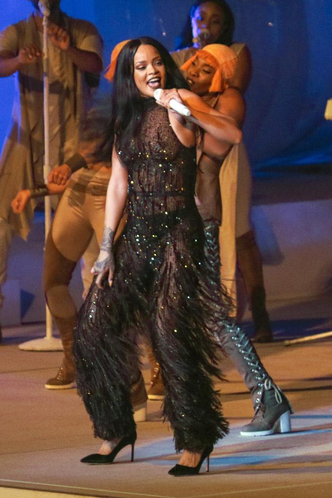 Rihanna Anti World Tour Shoes