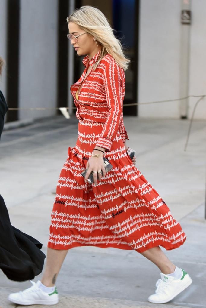 Rita Ora Stan Smith Gucci