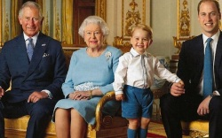 Royal Family Postage Stamps