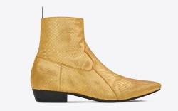 saint laurent fall 2016 boot