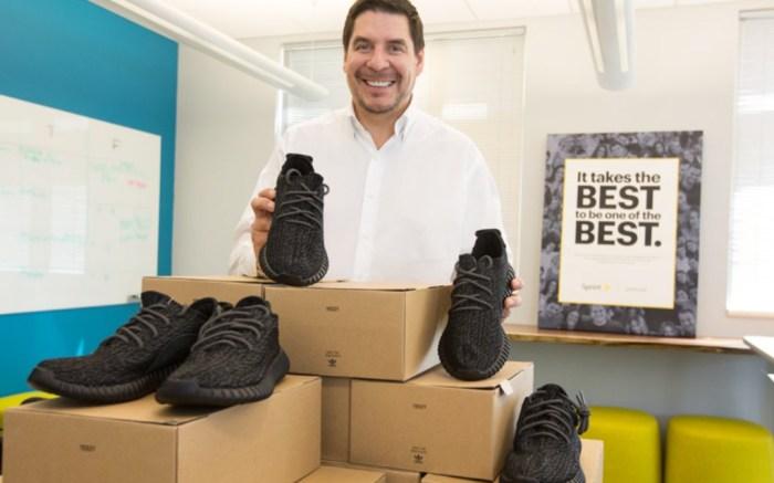 Sprint CEO Marcelo Claure Yeezy Boost 350