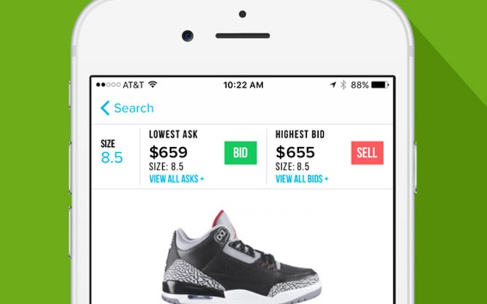 StockX App iOS Apple
