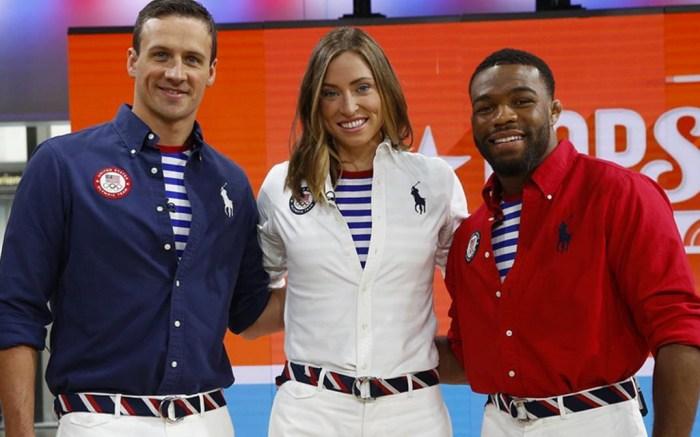 Team USA Olympics Uniforms