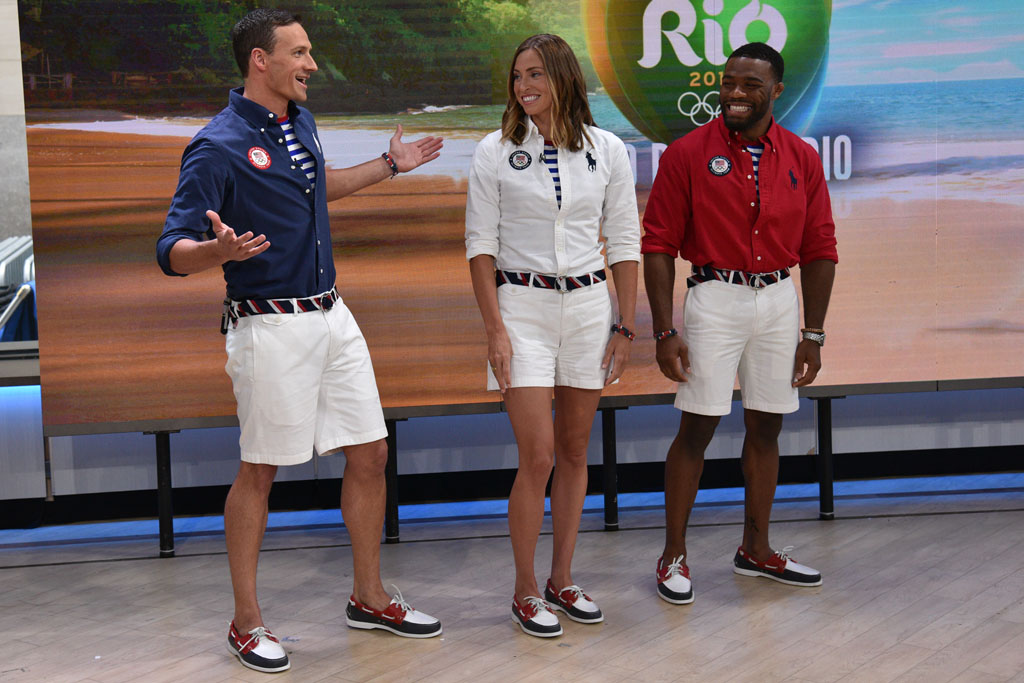 team usa ralph lauren polo boat shoes