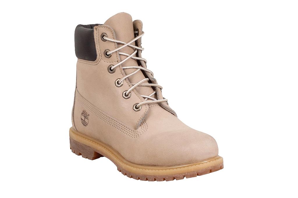 Timberland Metallic White Boots