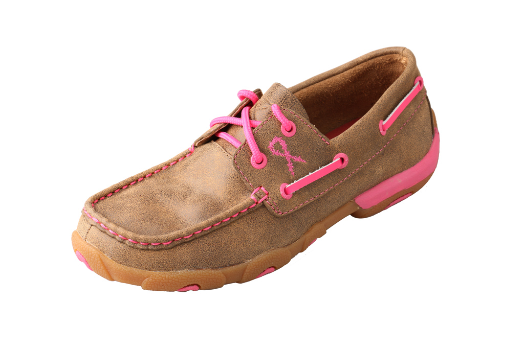 Twisted X Brands boat shoe