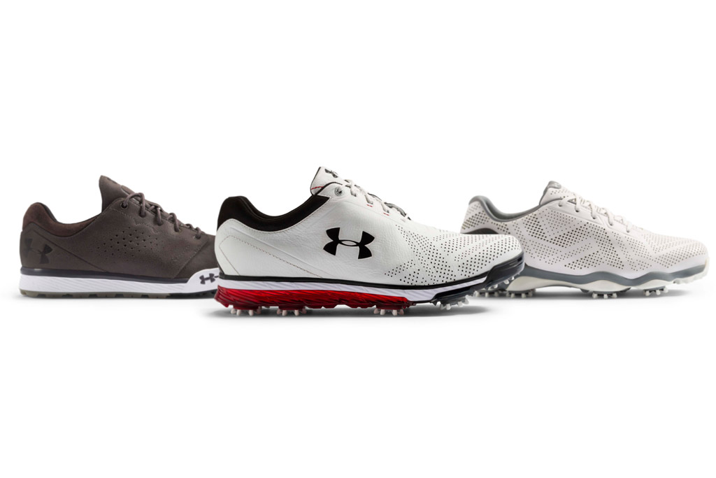Under Armour's 2016 golf shoe collection