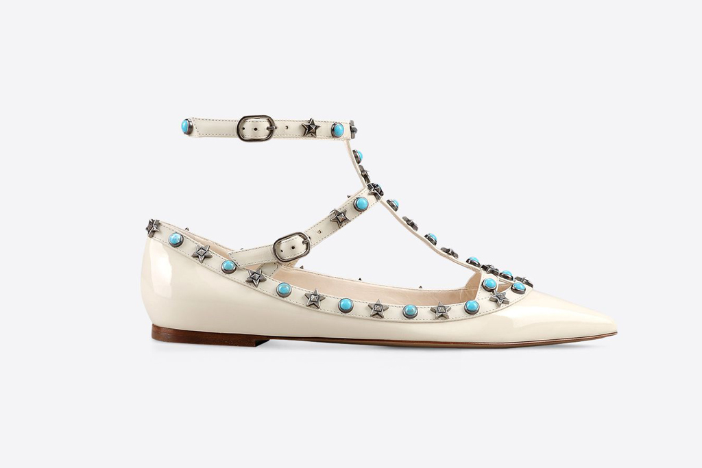 Valentino Star Studded Shoes Collection