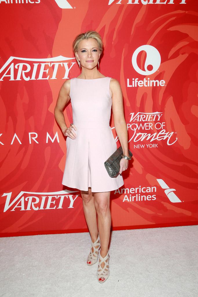 Megyn Kelly Variety Power of Women Red Carpet