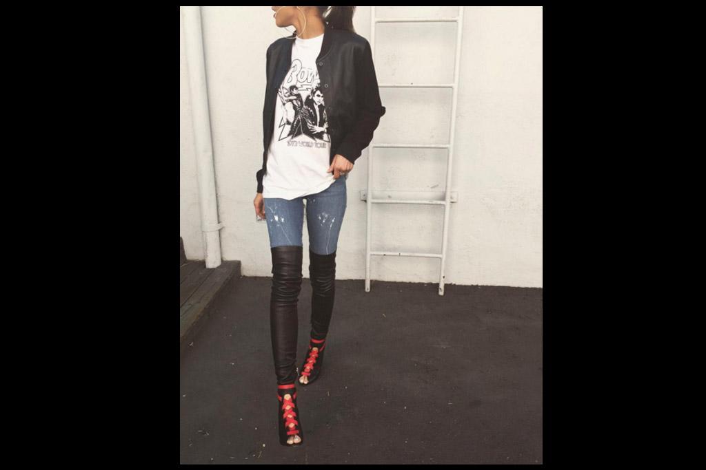 Zendaya Shoe Instagram of the Week