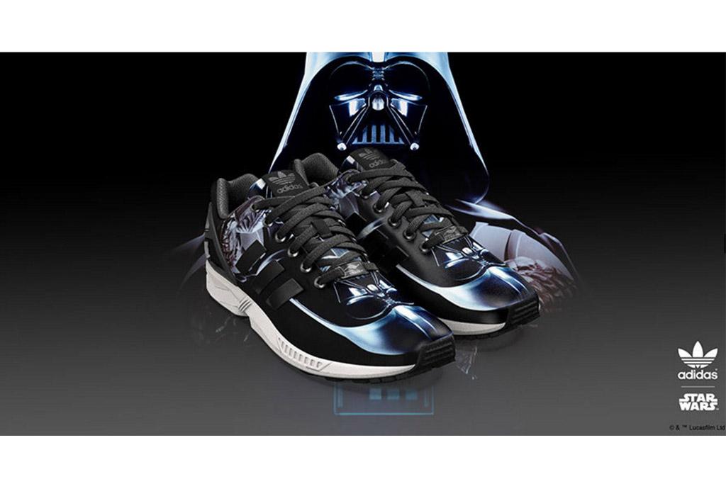 Adidas x Star Wars design your own mizxFlux trainer