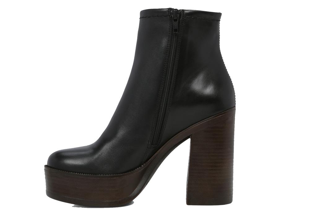 Aldo Colloredo Black Boots Platform